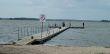 Budowa pomostu pływającego na jeziorze Wielimie